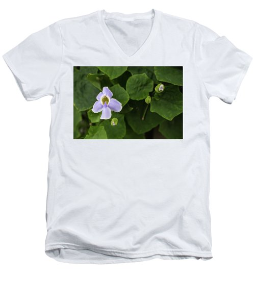 Men's V-Neck T-Shirt featuring the photograph Orchids  by Jingjits Photography