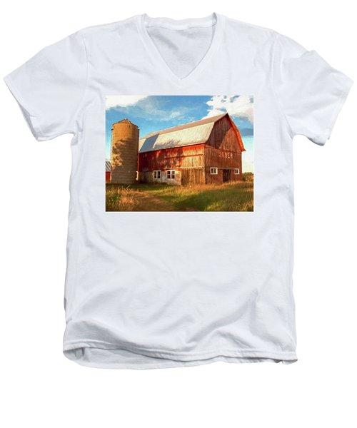 Oslo Corner Men's V-Neck T-Shirt