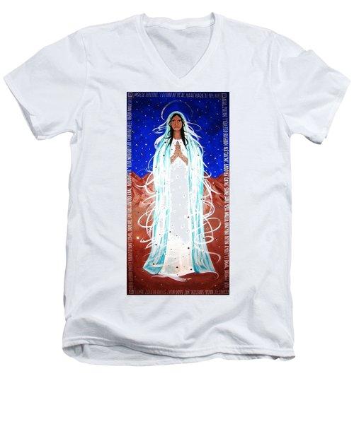 Our Lady Of Lucid Dreams Men's V-Neck T-Shirt