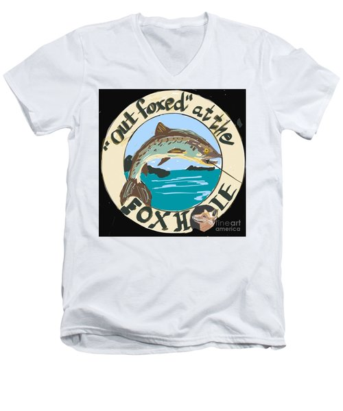 Out Foxed Men's V-Neck T-Shirt
