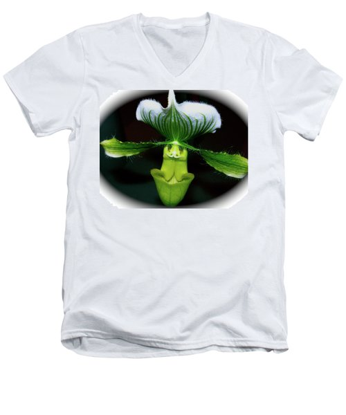 Men's V-Neck T-Shirt featuring the photograph Out Of Darkness by Randy Rosenberger