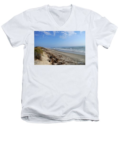 Outer Banks Morning Men's V-Neck T-Shirt