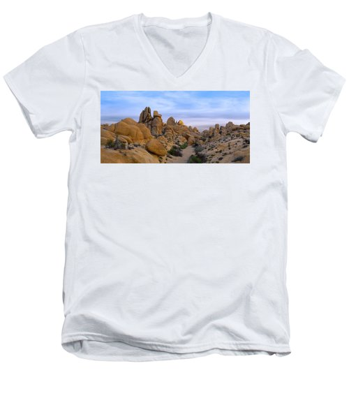 Outer Limits Pano View Men's V-Neck T-Shirt