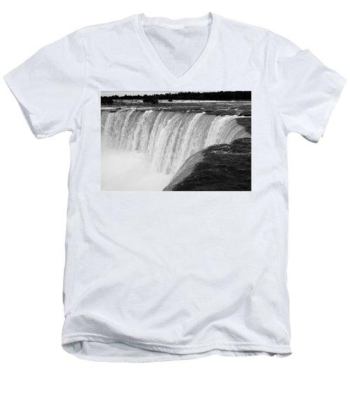 Over The Dam Men's V-Neck T-Shirt