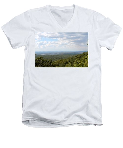 Overlooking Pinetop Men's V-Neck T-Shirt