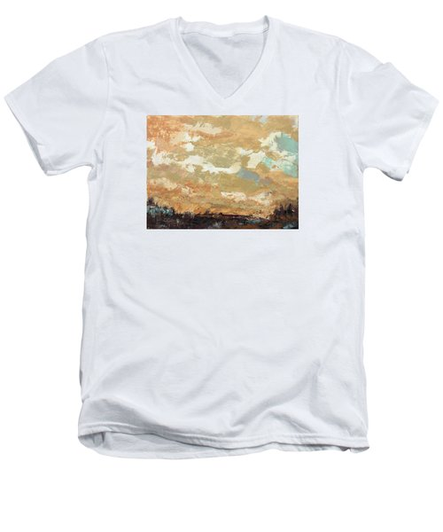 Overwhelming Goodness Men's V-Neck T-Shirt by Nathan Rhoads