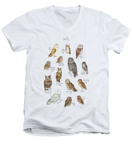 Owls Men's V-Neck T-Shirt
