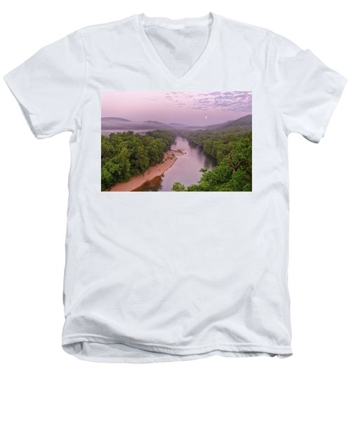 Owl's Bend Men's V-Neck T-Shirt