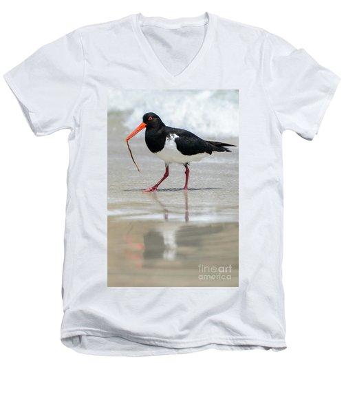 Oystercatcher 03 Men's V-Neck T-Shirt