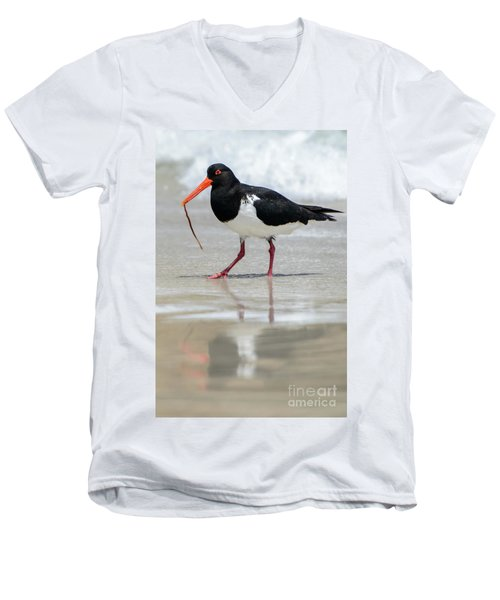 Oystercatcher 03 Men's V-Neck T-Shirt