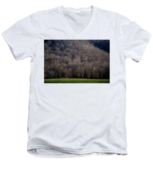 Ozarks Trees Men's V-Neck T-Shirt