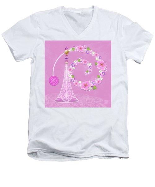 P Is For Perfume Men's V-Neck T-Shirt