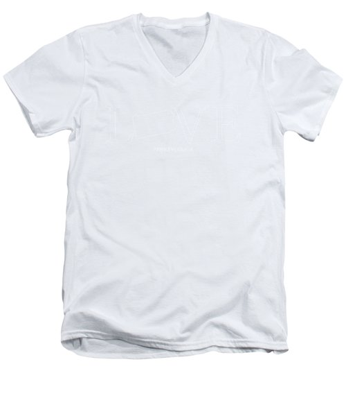 Pa Love Men's V-Neck T-Shirt by Nancy Ingersoll