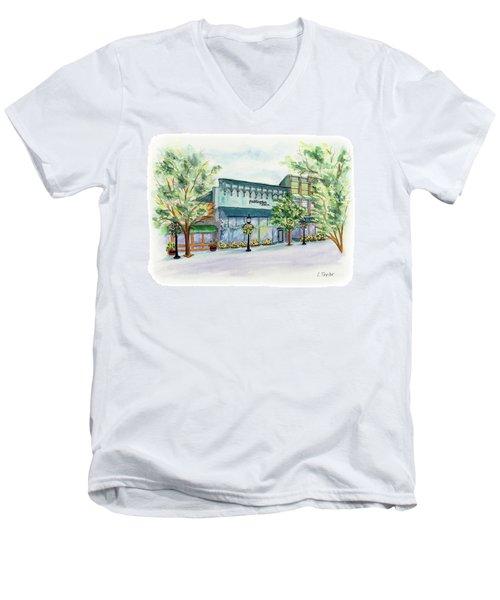 Paddington On Main Men's V-Neck T-Shirt