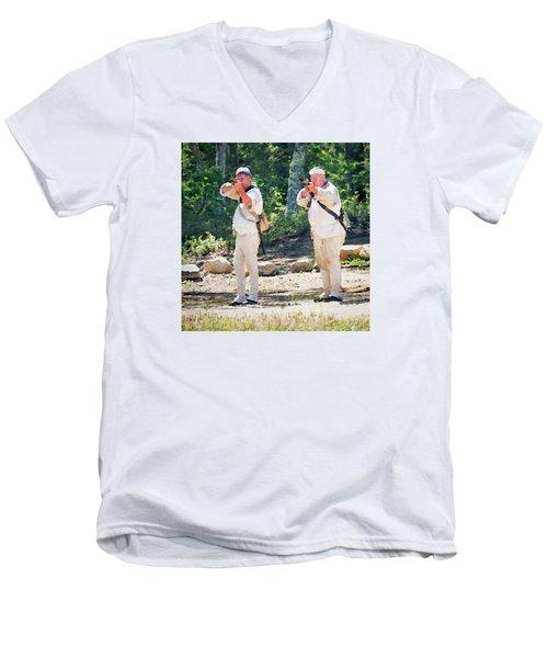 Page 26 Men's V-Neck T-Shirt