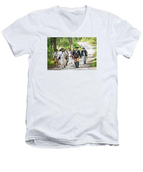 Page 5 Men's V-Neck T-Shirt