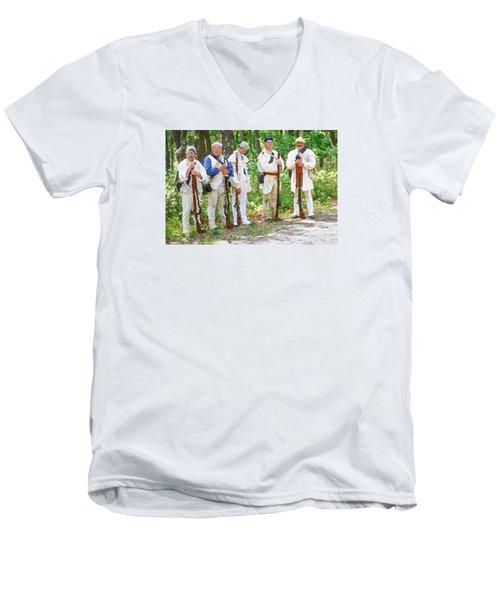 Page 6 Men's V-Neck T-Shirt