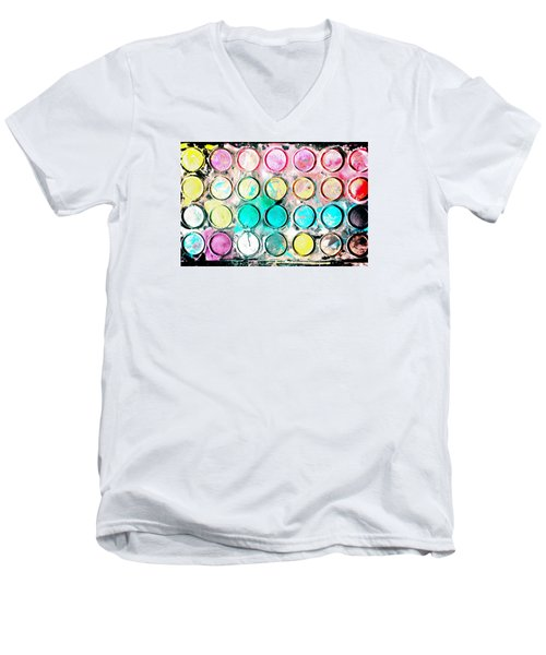 Paint Colors Men's V-Neck T-Shirt