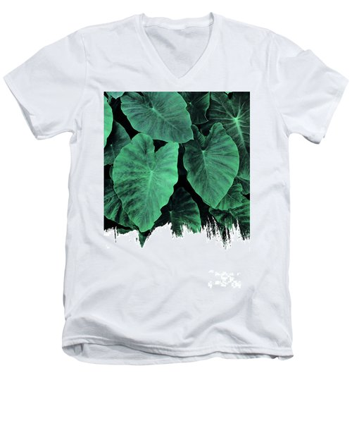 Paint On Jungle Men's V-Neck T-Shirt