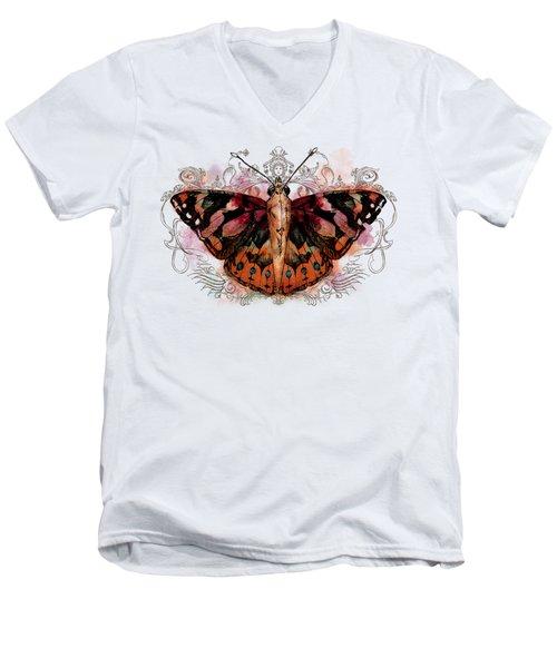 Painted Lady II Men's V-Neck T-Shirt