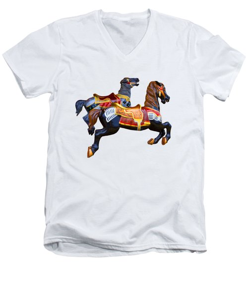 Painted Ponies Men's V-Neck T-Shirt
