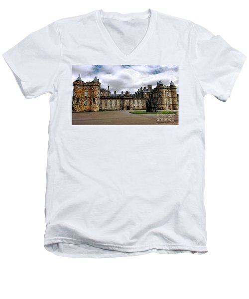 Palace Of Holyroodhouse  Men's V-Neck T-Shirt