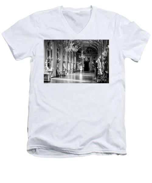 Palazzo Doria Pamphilj, Rome Italy Men's V-Neck T-Shirt