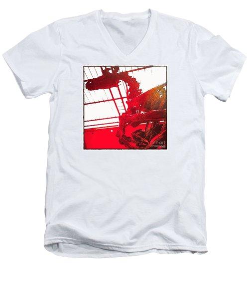 Paleo Figther Men's V-Neck T-Shirt