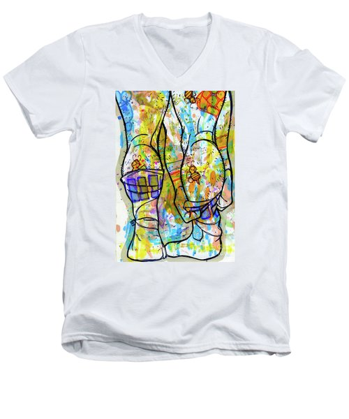 Palette Lad 11 Men's V-Neck T-Shirt