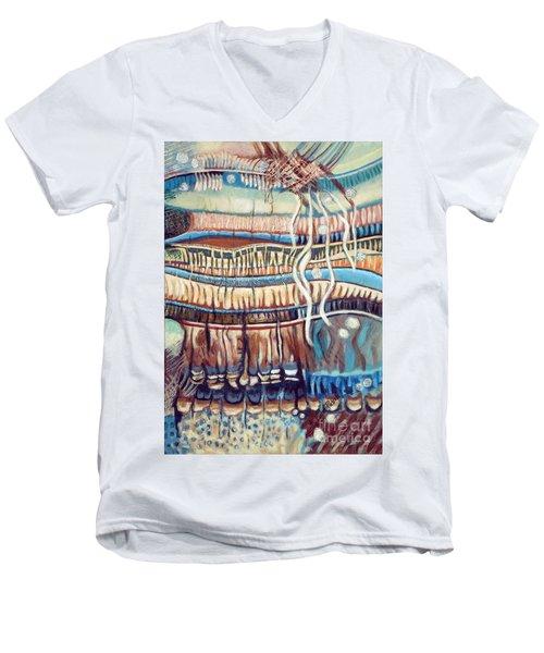 Palm Contractions Men's V-Neck T-Shirt