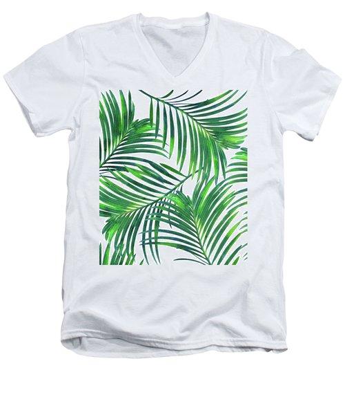 Palm Paradise Men's V-Neck T-Shirt