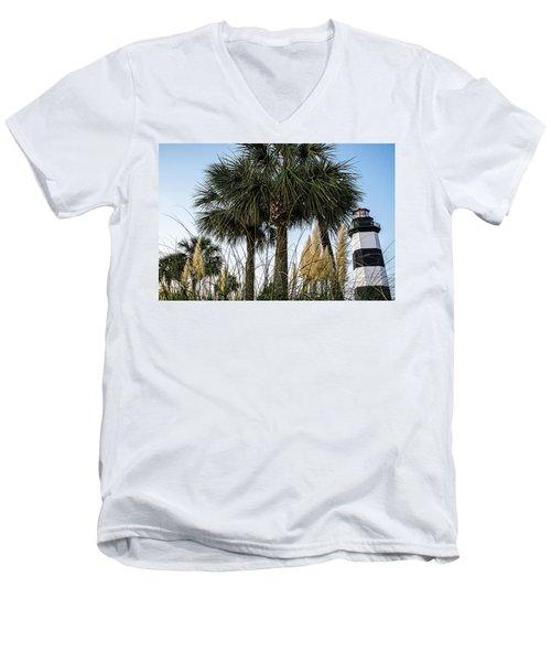 Palms At Lightkeepers Men's V-Neck T-Shirt