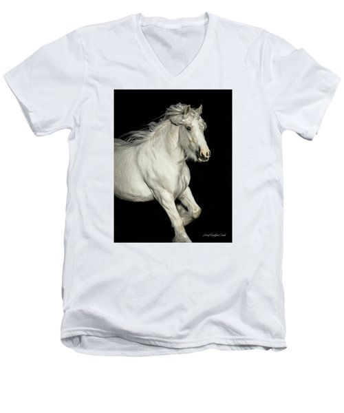 Palomino Portrait Men's V-Neck T-Shirt