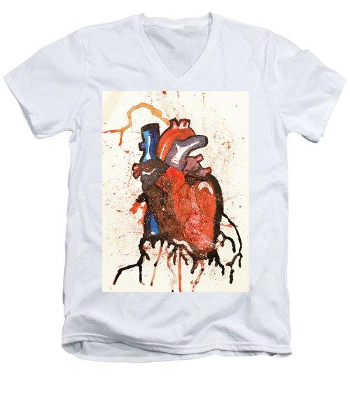 Palpitate Men's V-Neck T-Shirt