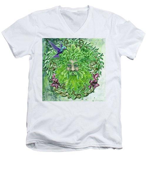 Pan The Protector Men's V-Neck T-Shirt