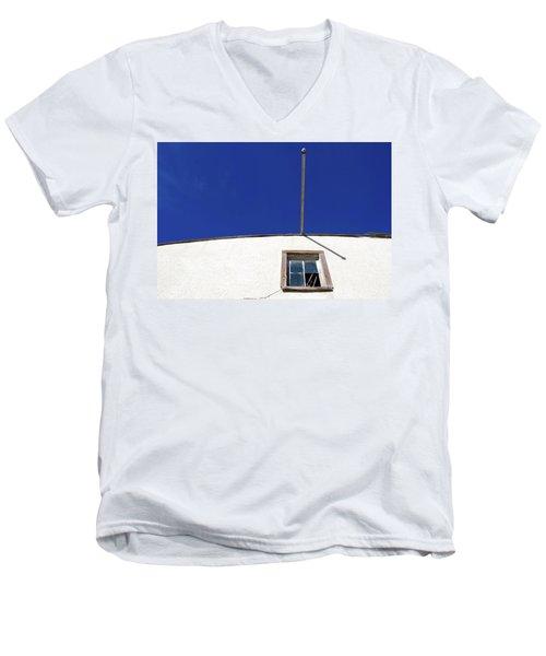Paneless  Men's V-Neck T-Shirt