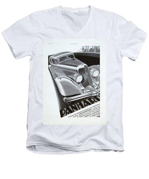Panhard #8710 Men's V-Neck T-Shirt