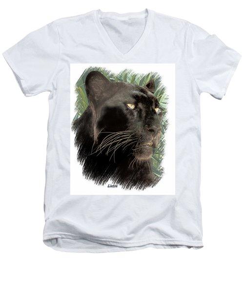 Panther 8 Men's V-Neck T-Shirt