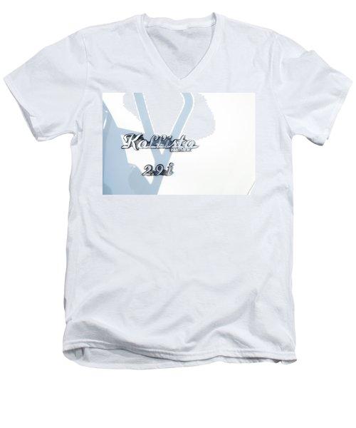 Panther Kallista Men's V-Neck T-Shirt by Theresa Tahara