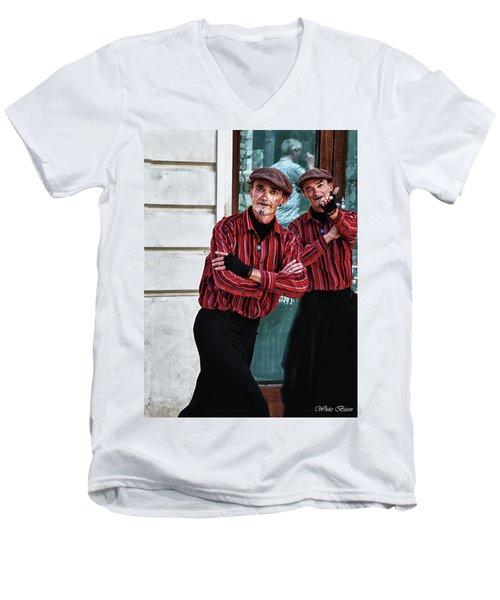 Pantomine Men's V-Neck T-Shirt