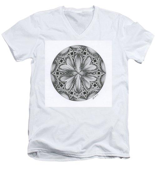 Paradoxical Zendala Men's V-Neck T-Shirt