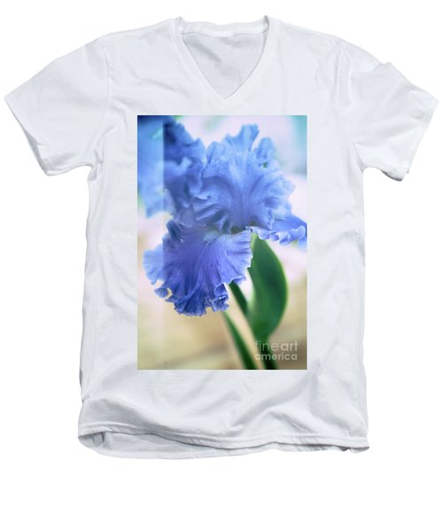 Parallel Botany #5254 Men's V-Neck T-Shirt by Andrey Godyaykin