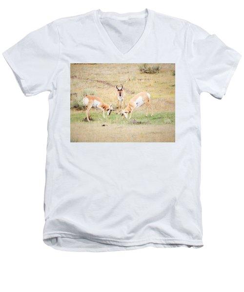 Parent Watching Sparring  Men's V-Neck T-Shirt