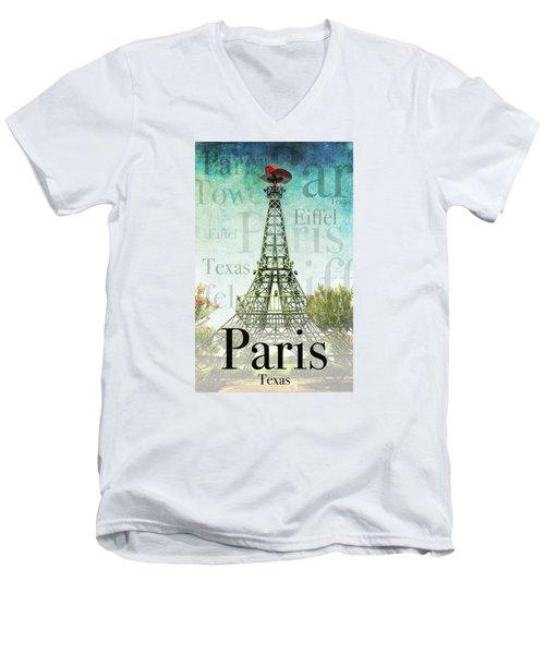 Paris Texas Style Men's V-Neck T-Shirt