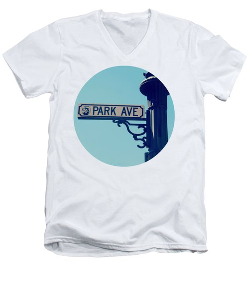 Park Ave T Shirt Men's V-Neck T-Shirt