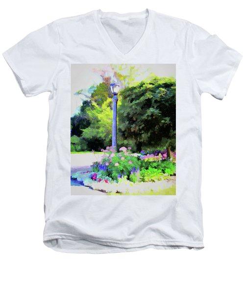 Park Light Men's V-Neck T-Shirt