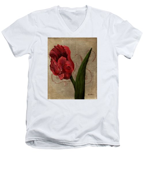 Parrot Tulip I Men's V-Neck T-Shirt