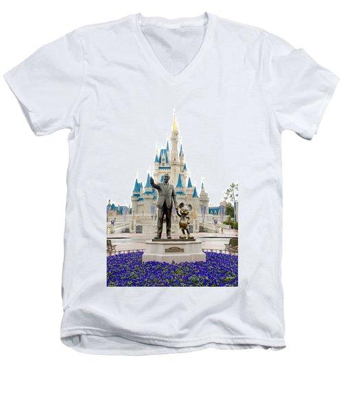 Partners Men's V-Neck T-Shirt