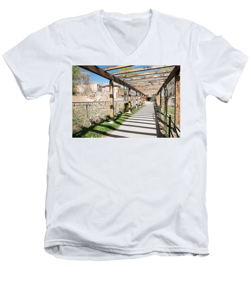 Passage To Sanctuary Men's V-Neck T-Shirt