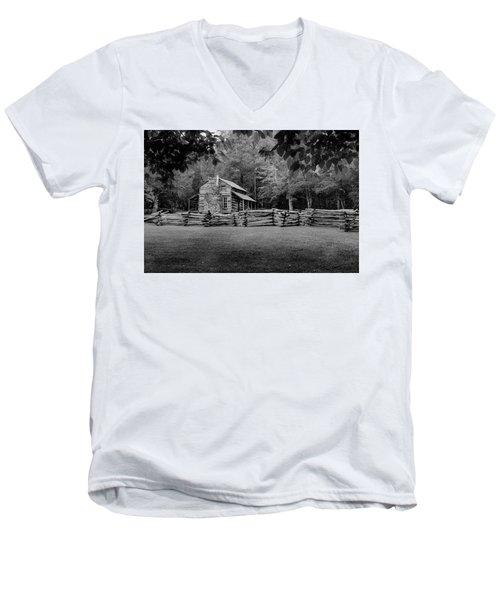 Passing Through The Cove Men's V-Neck T-Shirt